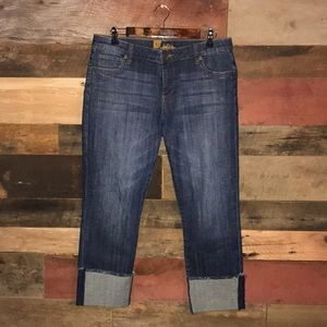 Kut from the Kloth cuffed jeans